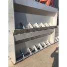 厂家供应单面双面不锈钢食槽设备制造商诚信经营