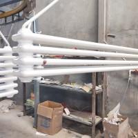 钢四柱暖气片 钢制柱型散热器 家用采暖设备 低碳钢暖气片