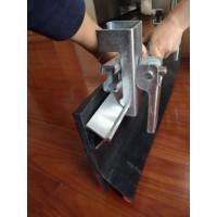 镀锌夹持器 导料槽卡子 角铝压条