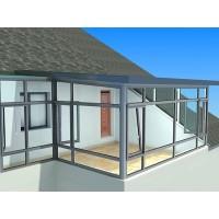 浙江铝木复合门窗定制,湖州高档铝包木门窗,别墅高档铝木阳光房