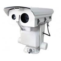 1~3公里激光夜视云台摄像机,长焦透雾高清云台摄像机