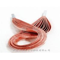 紫铜编织带多层叠加冷压端子铜导电带软连接福能电子工艺精细