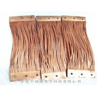 铜绞线铜绳子导电带熔焊一体件软连接电子福能工艺精湛