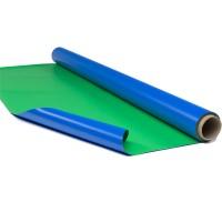 演播室蓝绿双面抠像地胶 rosco影视抠像漆用pvc地胶
