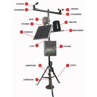北海灵犀小型气象站百叶箱空气温湿度雨量气象自动监测站 可定制