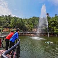 安信游乐厂家呐喊喷泉现货供应 30米呐喊喷泉造价